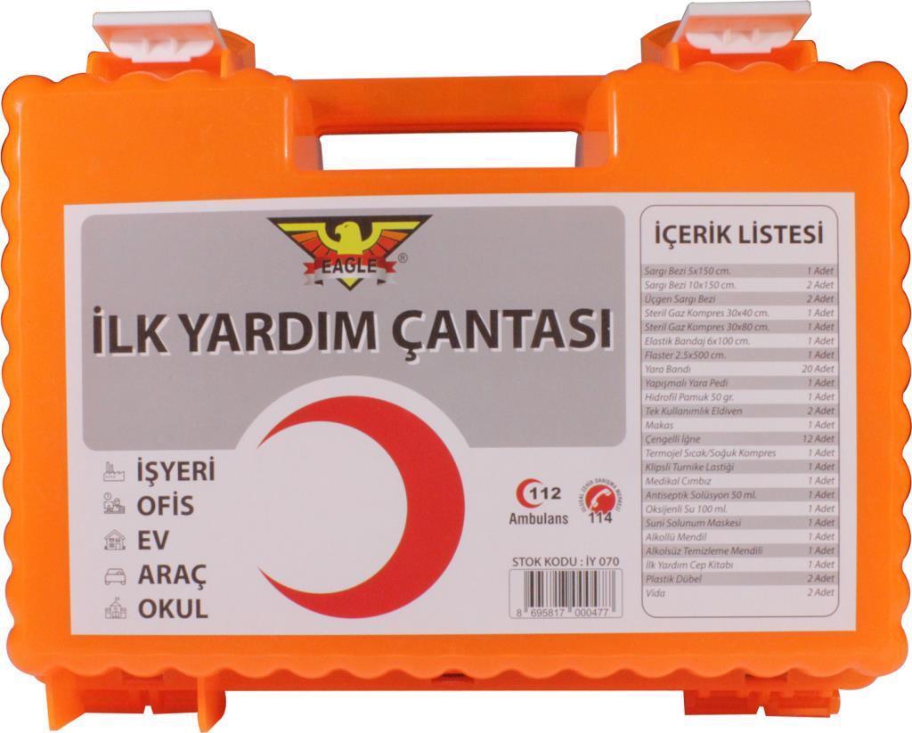 İŞYERİ İLK YARDIM ÇANTASI 072